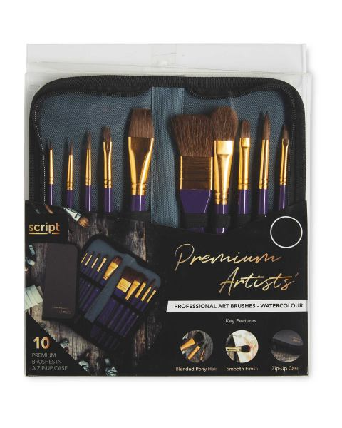 Professional Watercolour Art Brushes