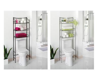 Easy Home Bathroom Space Saver Shelf Easy Home Bathroom Space Saver Shelf