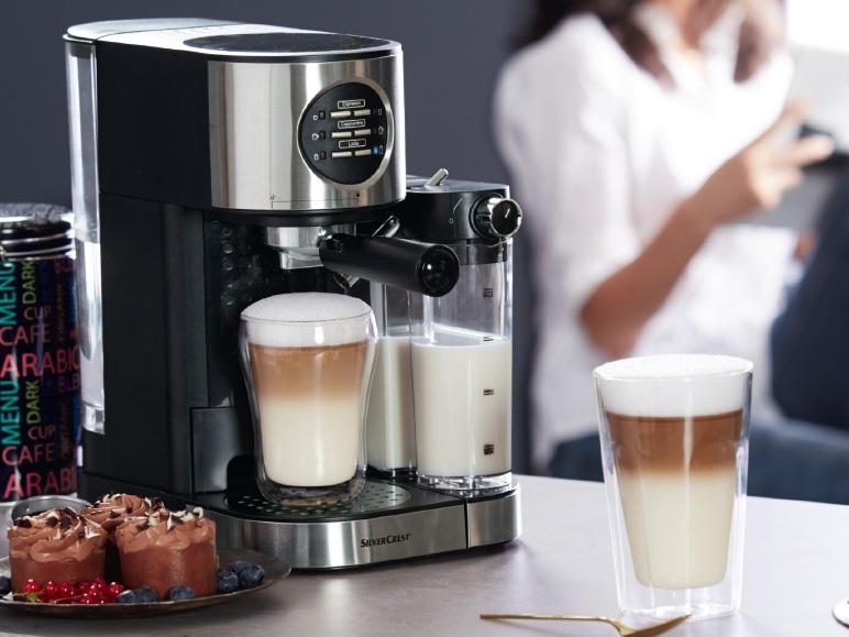 silvercrest kitchen tools r 1 470w espresso machine with. Black Bedroom Furniture Sets. Home Design Ideas