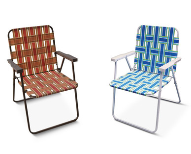Elegant Gardenline Folding Web Chair