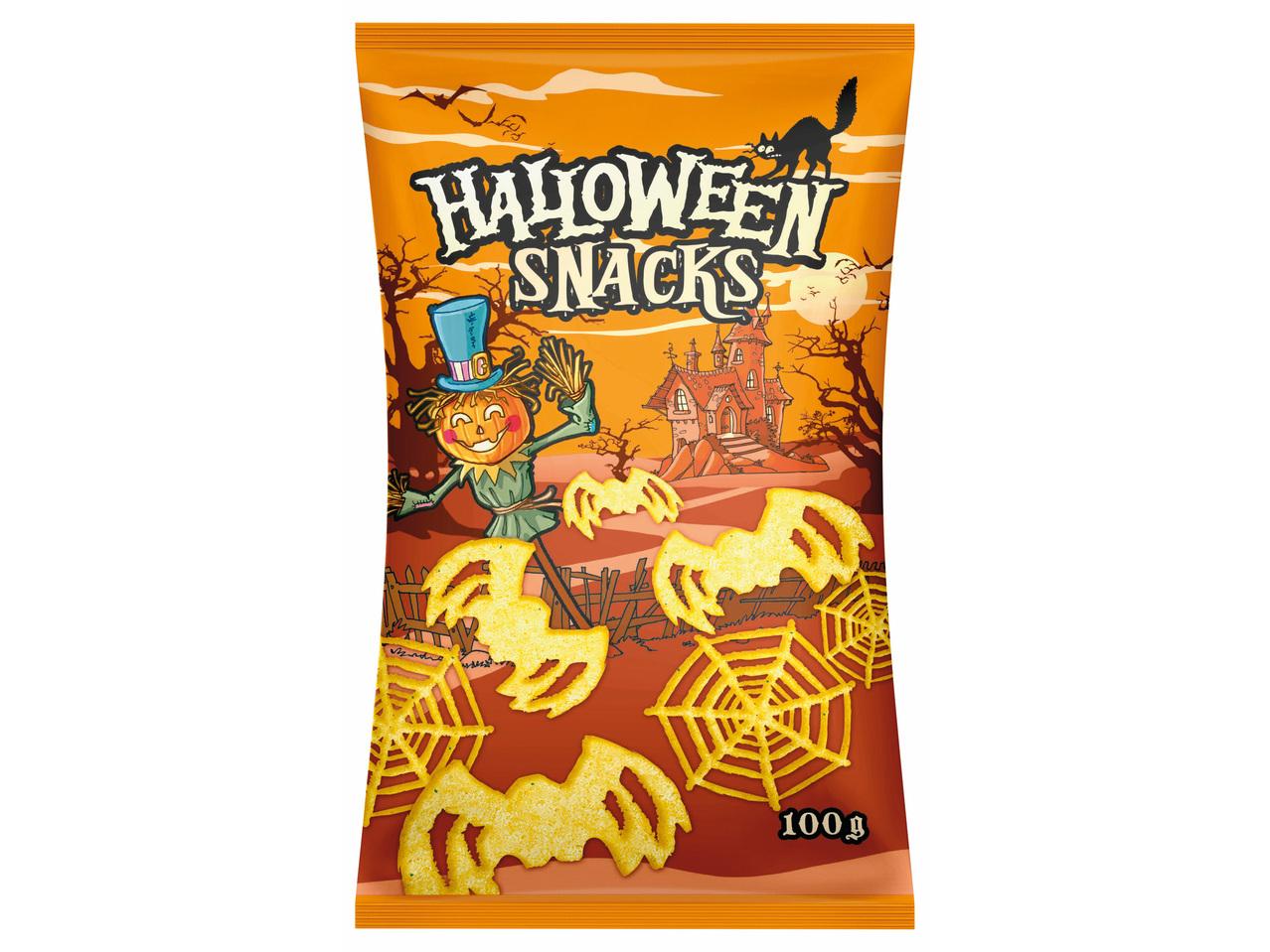 Snacks d'Halloween crème aigre - Lidl - Belgique - Archive..