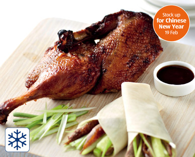 Crispy Aromatic Duck With Pancakes Aldi Great Britain Specials Archive
