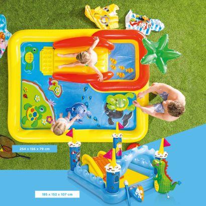 Piscine gonflable avec accessoires aldi belgique for Accessoire piscine 62