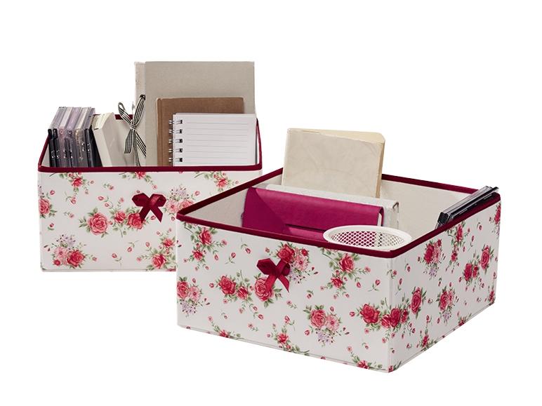 2 boîtes de rangement - Lidl — France - Archive des offres promotionnelles