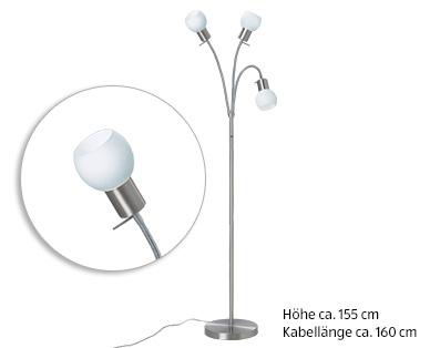Horstmann LED-Stehleuchte, dimmbar - Aldi Süd — Deutschland - Archiv ...
