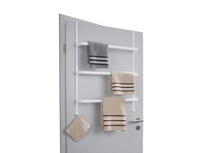 Porte serviette pour porte for Porte serviette de comptoir