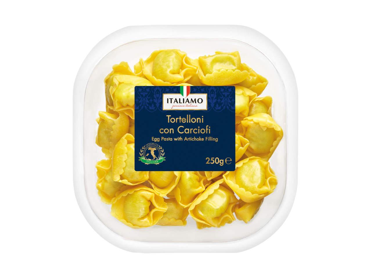 pasta med fyld