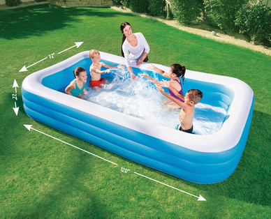 Rectangular family pool aldi usa specials archive - Family pool aldi ...