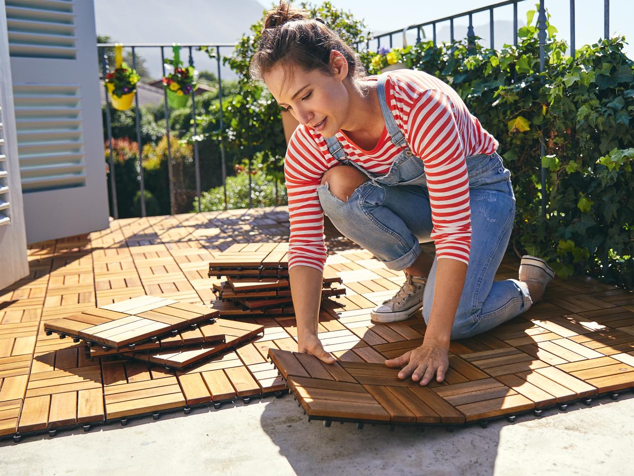 Piastrelle In Legno Florabest : Piastrelle in legno pezzi lidl u svizzera archivio offerte