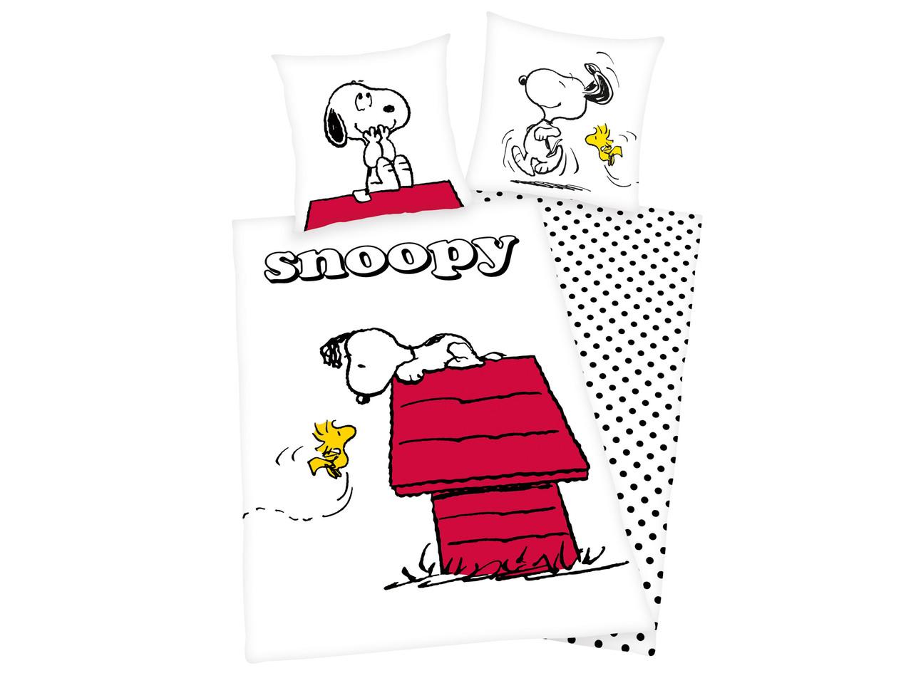 Copripiumino Snoopy.Parure Copripiumino Singolo Lidl Italia Archivio Offerte