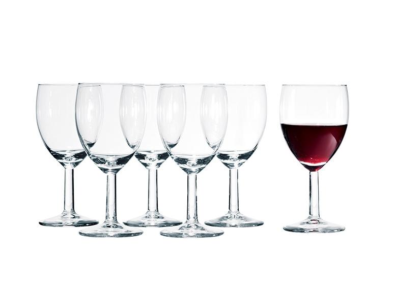 6 verres vin rouge ou blanc lidl france archive des offres promotionnelles. Black Bedroom Furniture Sets. Home Design Ideas