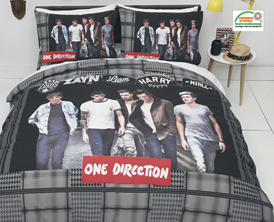 One Direction Bed Sheets Queen