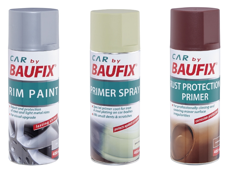 BAUFIX Car Care Spray - Lidl — Great Britain - Specials ...
