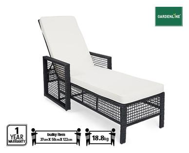 wicker sunlounger aldi australia specials archive. Black Bedroom Furniture Sets. Home Design Ideas