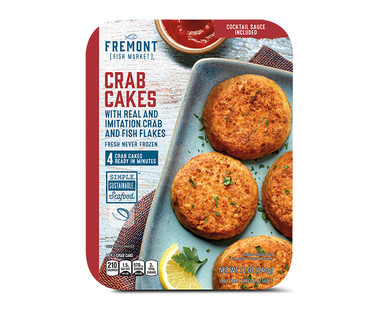 Fremont Fish Market Chilled Crab Cakes