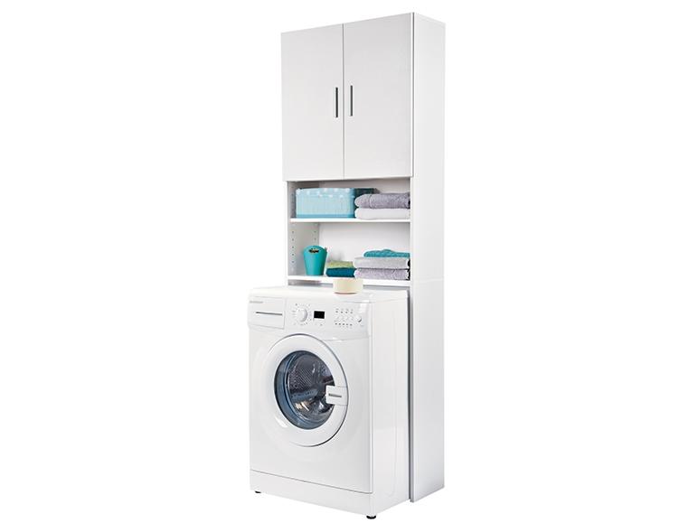 Mobile per lavatrice bianco lidl italia archivio offerte promozionali - Mobile sopra lavatrice ...