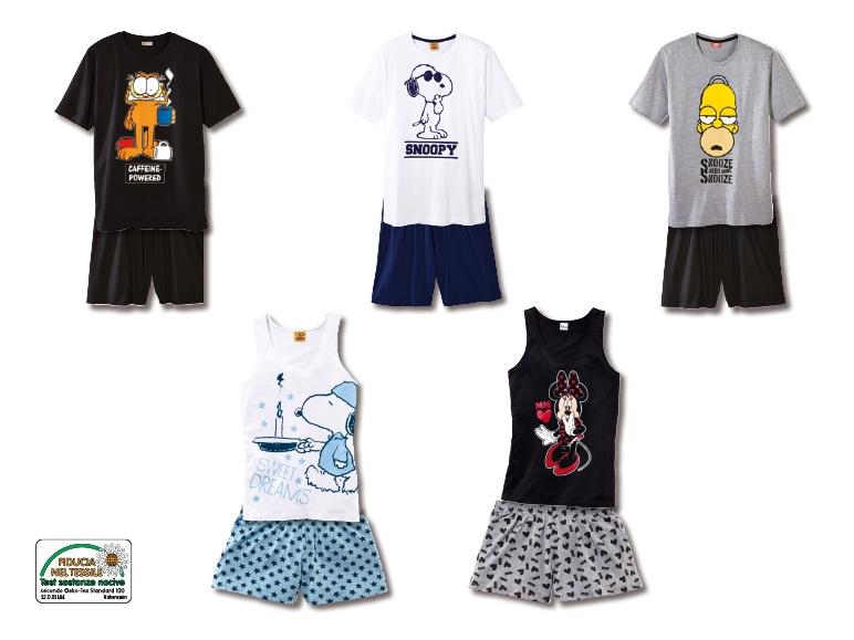 negozio online 00ac0 0cb25 Pigiama corto - Lidl — Svizzera - Archivio offerte promozionali