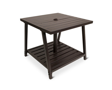 Gardenline Umbrella Side Table Aldi Usa Specials Archive