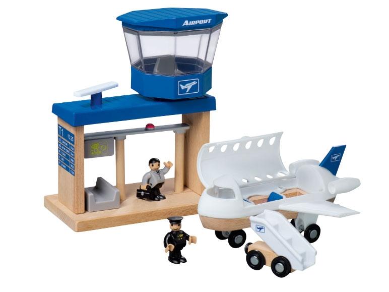 Playtive Junior Wooden Port, Parking Garage, Airport or ...