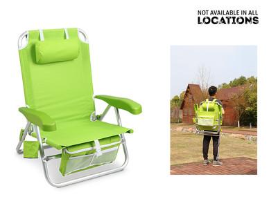 Awesome Crane Aluminum Backpack Chair Or Lounger Aldi Usa Machost Co Dining Chair Design Ideas Machostcouk