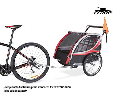 kids bike trailer aldi australia specials archive. Black Bedroom Furniture Sets. Home Design Ideas