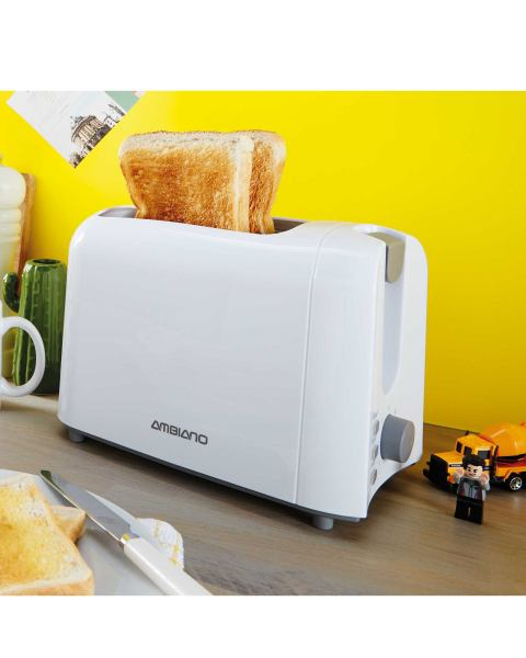 Ambiano White Home Starter Toaster