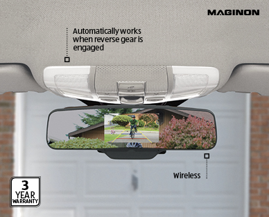 Rear View Mirror With Wireless Reversing Camera Aldi