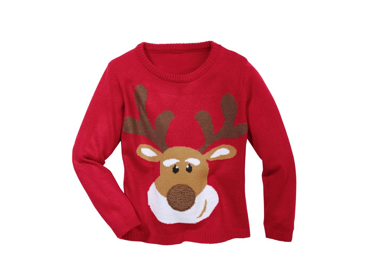 enorme sconto 81cef ce113 Boys' Christmas Pullover - Lidl — Malta - Specials archive