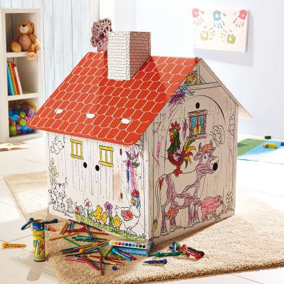 Maison enfant colorier aldi france archive des for Maison en carton a colorier