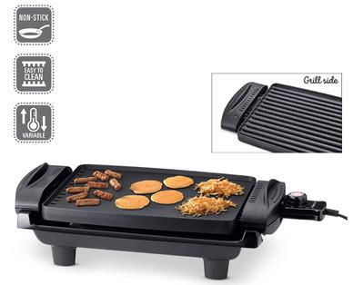 Aldi Elektrogrill Ambiano Test : Ambiano nonstick reversible grill griddle aldi u usa