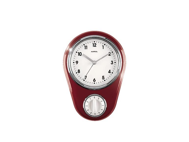Horloge murale de cuisine avec minuteur lidl france archive des offres promotionnelles - Minuteur 7 minutes ...