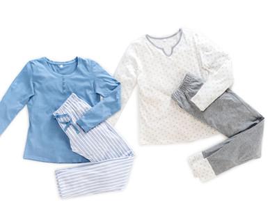 368c04fc7458 GREEN FEELING BIO Damen-Pyjama, Baumwolle (Bio) - Hofer — Österreich ...