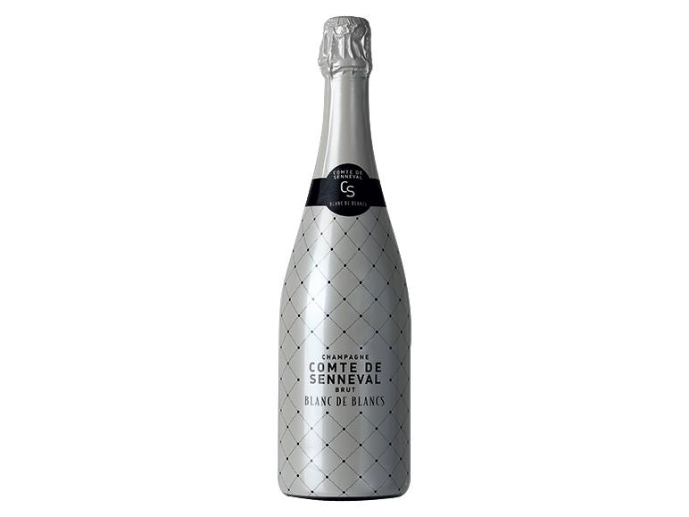 champagne brut blanc de blancs comte de senneval aop lidl france archive des offres. Black Bedroom Furniture Sets. Home Design Ideas