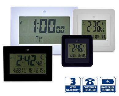 Radio Controlled Digital Wall Clock Aldi Ireland Specials archive