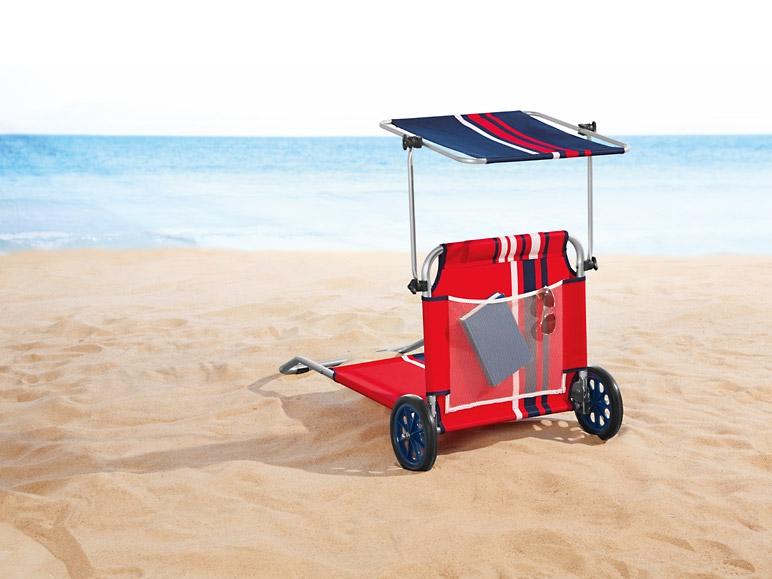 Sdraio Trolley Da Spiaggia Lidl.Sdraio Trolley Da Spiaggia Blu O Rosso Blu Lidl Italia