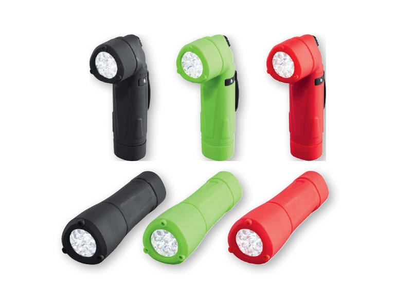 LIVARNO LUX LED Angled Torch/LED Torch