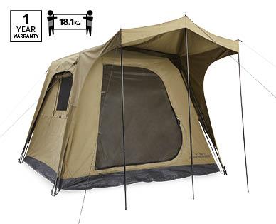 premium selection 04668 d4301 4 Person Instant Up Canvas Tent - Aldi — Australia ...