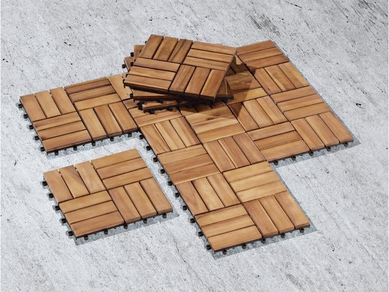 Piastrelle in legno 10 pezzi lidl u2014 italia archivio offerte