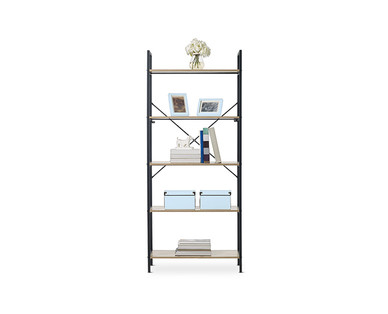 SOHL Furniture Exclusive Collection 5-Shelf Ladder Bookcase