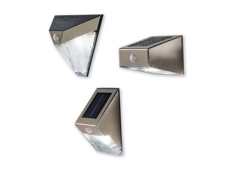 Livarno Lux R Led Solar Wall Light Lidl Ireland