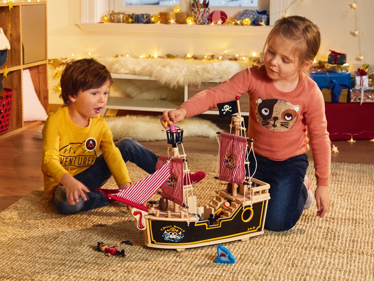 Playtive Juniorr Holz Puppenhaus Oder Piratenschiff Lidl