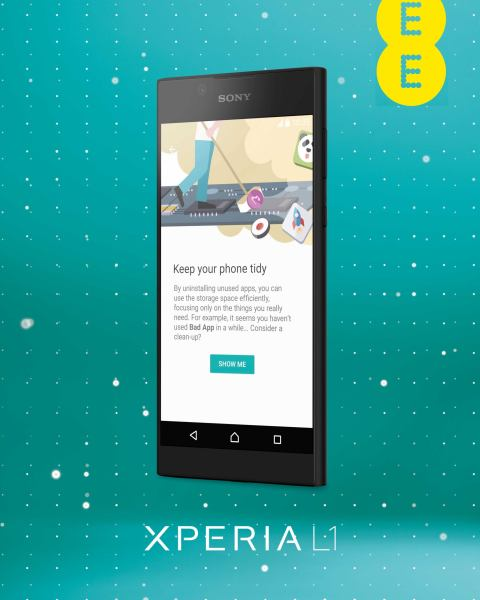 Sony Xperia L1 Phone on EE - Aldi — Great Britain - Specials archive