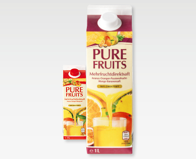 Jus multifruits pur fruit PURE FRUITS