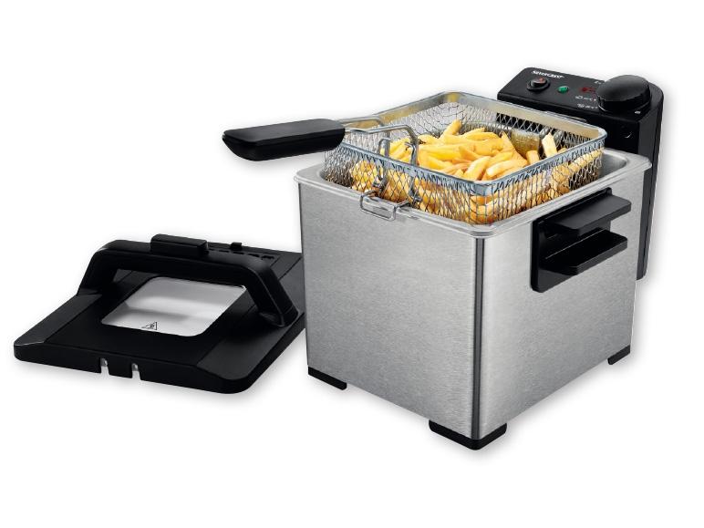 Silvercrest kitchen tools r 2 300w cool zone deep fat - Silvercrest kitchen tools opiniones ...