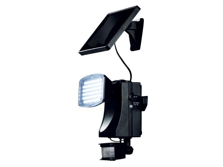 LED Solar Light Motion Detector Outdoor Light LivarnoLux