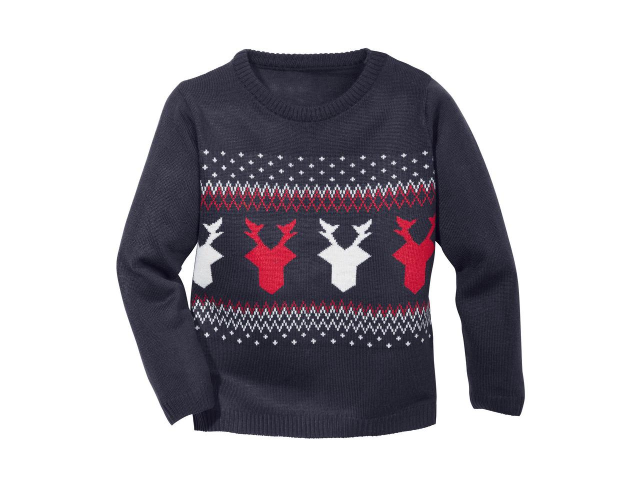 nuovo stile 26f28 b1e40 Pullover natalizio da bambino - Lidl — Italia - Archivio ...