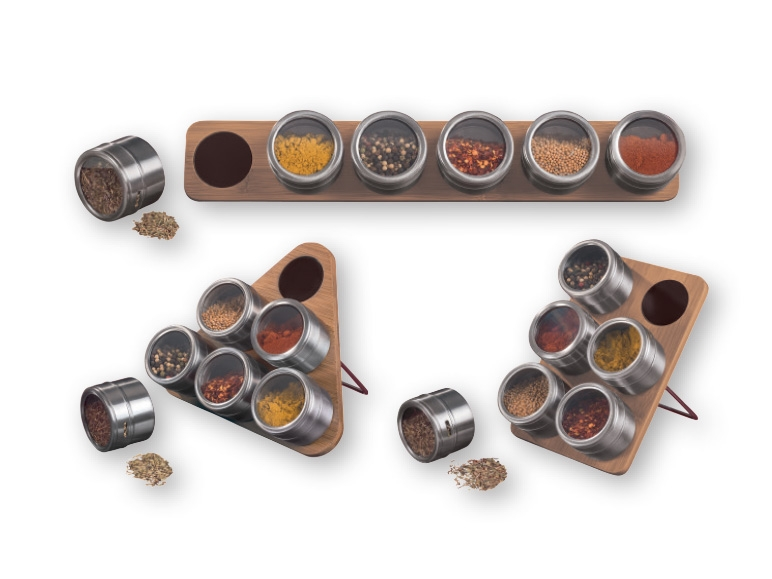 ERNESTO Magnetic Herb and Spice Rack