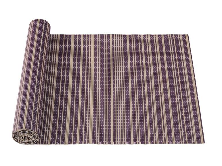 sets de table en bambou ou chemin de table lidl. Black Bedroom Furniture Sets. Home Design Ideas