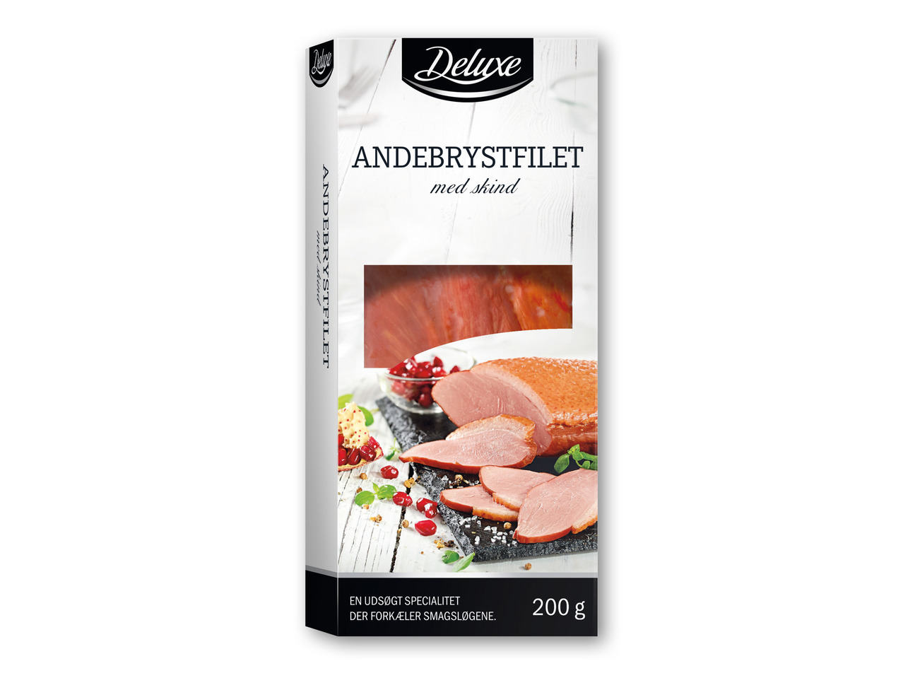 DELUXE Røget andebryst