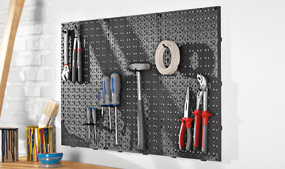 Support mural pour outils 28 images support mural cle - Crochet pour tableau outillage ...